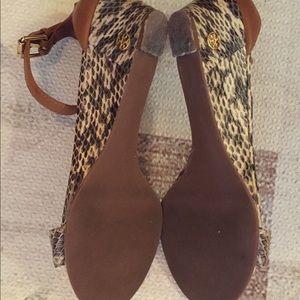 Tory Burch Shoes - Tory Burch Savannah wedge heels